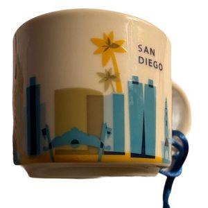 Starbucks YAH - 2oz Ceramic Ornament - San Diego